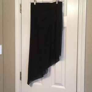 Tadashi asymmetrical skirt